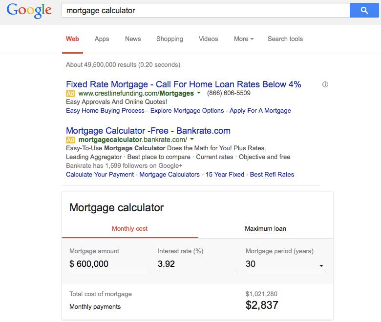 google_mortgage_calculator