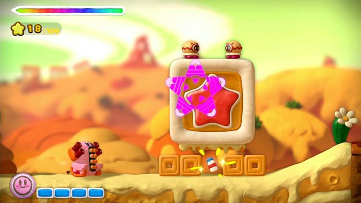 Tank Kirby isn't messing around.