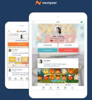 Nextpeer social layer