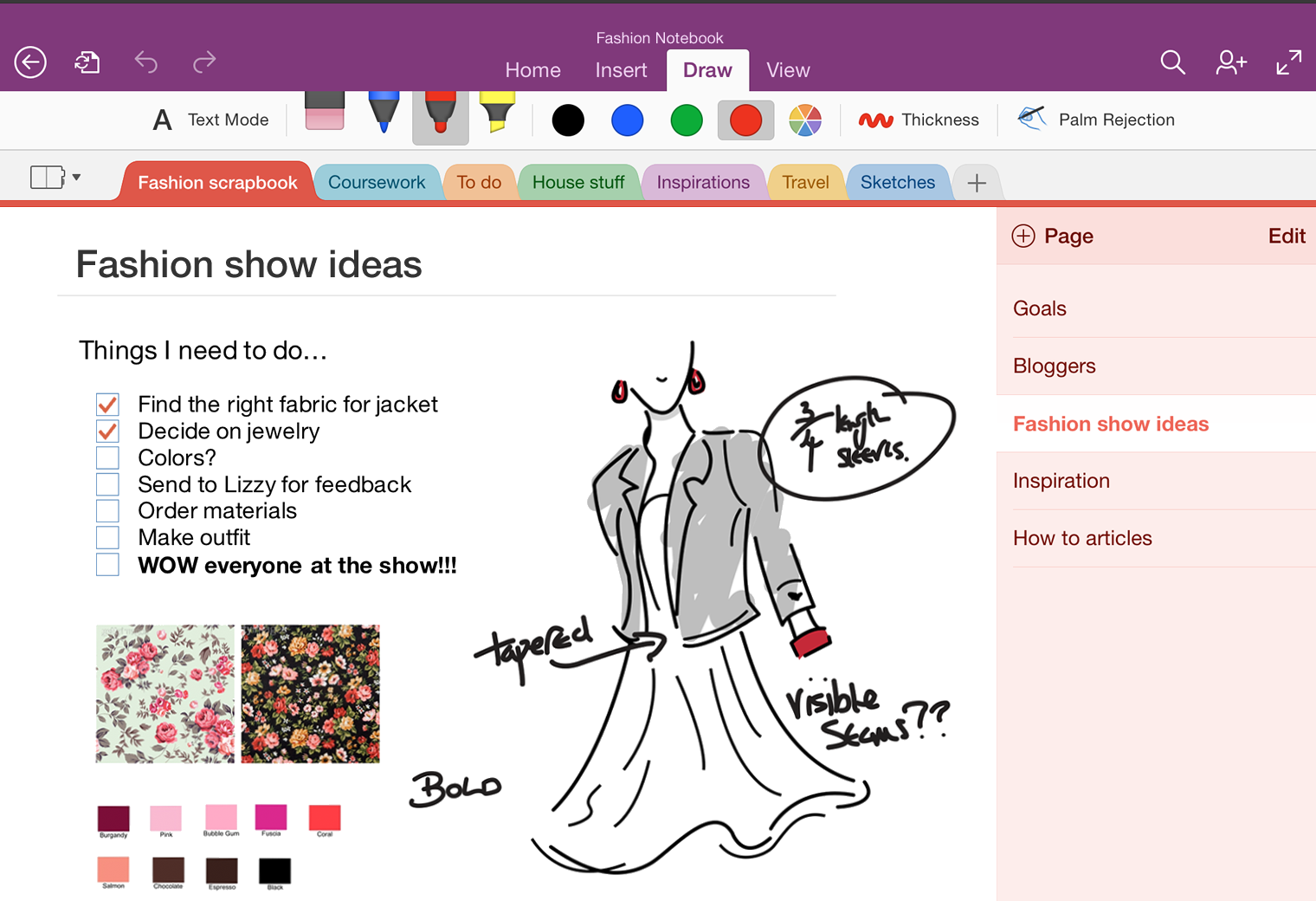 Image Gallery: onenote android handwriting