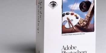 This is what Adobe Photoshop looked like 25 years ago today