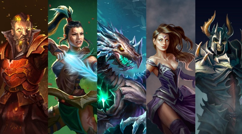 Rival Kingdoms characters