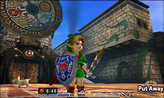 Link in Clock Town.