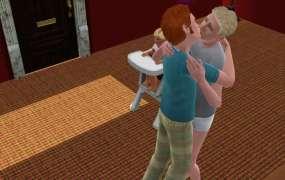 The Sims 3 kiss