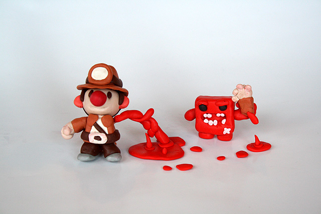 Spelunky and Meat Boy 2