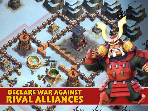 Samurai Siege: Alliance Wars, a strategy game from Space Ape Games.