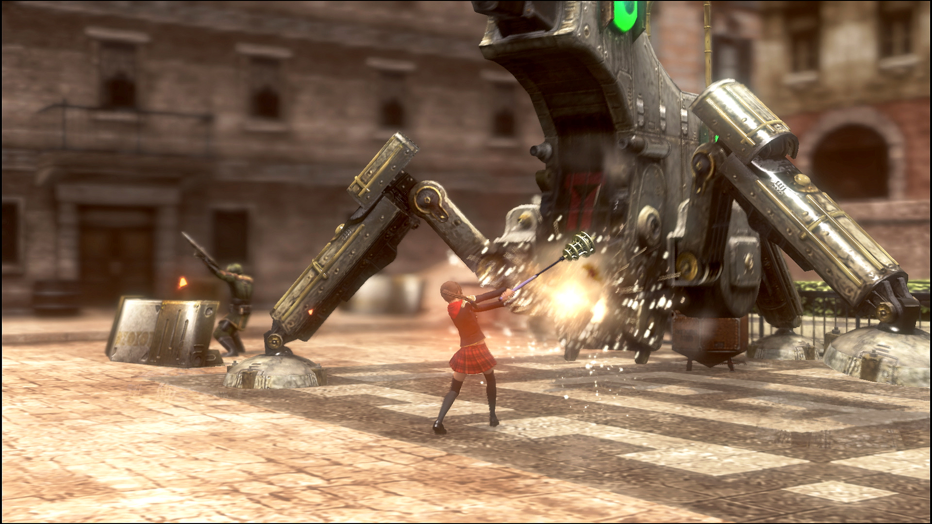 The boss battles are the most challenging and satisfying parts of Final Fantasy Type-0 HD.