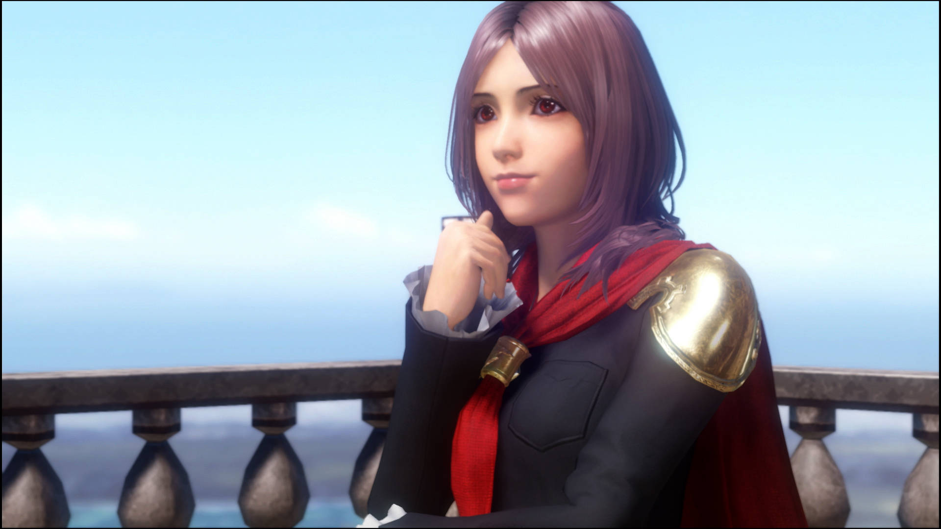 Square Enix likely spent an inordinate amount of time making these shoulder guards look good.