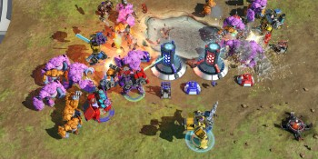Build and unleash your mechs in a new real-time strategy game