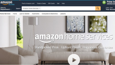 Amazon launches handyman 'home services' platform for