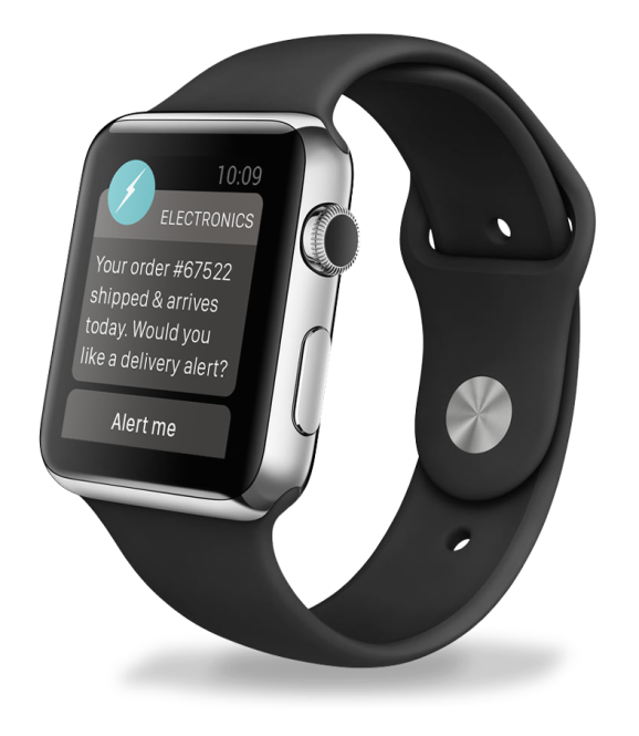 Notification-based marketing on the Apple Watch is now supported by Urban Airship