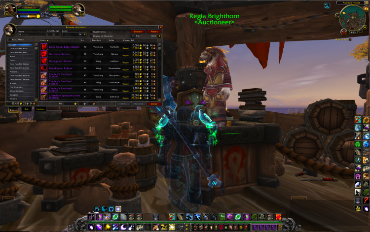 World of Warcraft Auction House