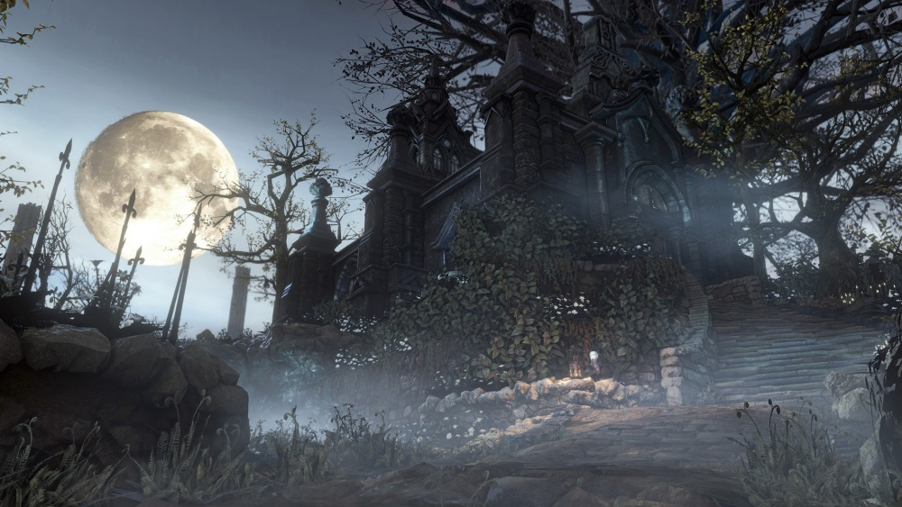 Each of Bloodborne's increasingly demented maps are connected by the Hunter's Dream hub realm.