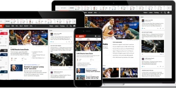 Inside ESPN's first redesign since 2009 — it finally looks good on your phone