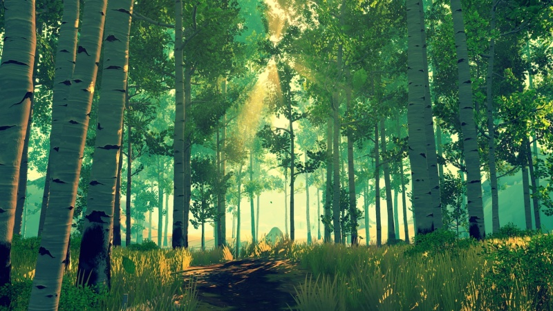 Firewatch invites us to explore a budding relationship just as deeply as the wilderness that surrounds us.