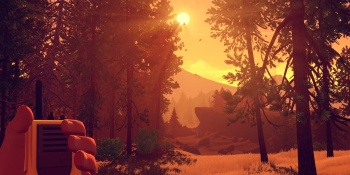 Firewatch turns a boring wilderness job into a compelling adventure