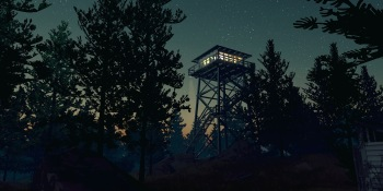 Creepy forest mystery FireWatch coming to PlayStation 4