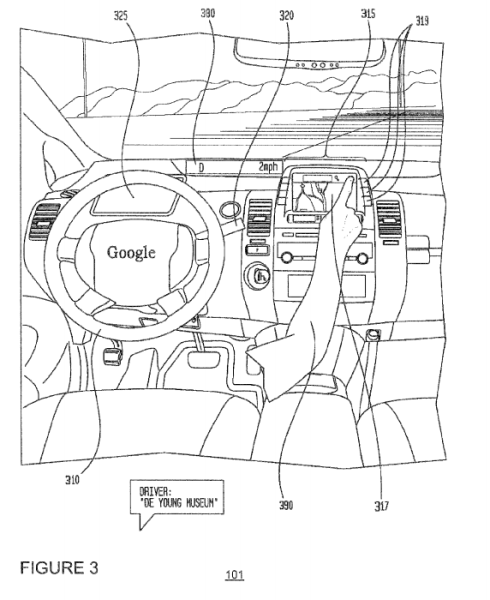 """From the Google patent  """"Determining when to drive autonomously."""""""