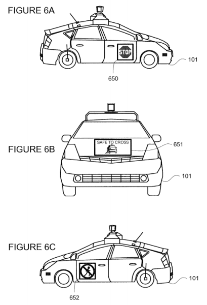 "From the Google patent ""Pedestrian notifications."""