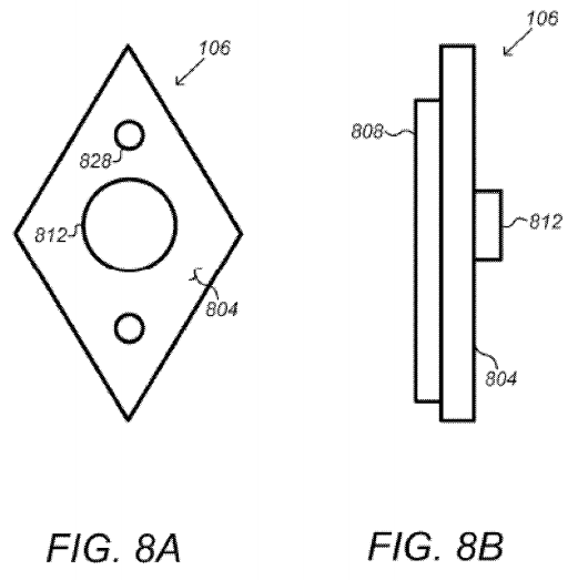"Google's smart doorbell concept, in the patent application ""Security Scoring in a Smart-Sensored Home."""