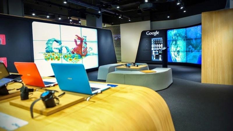 Google shop, London