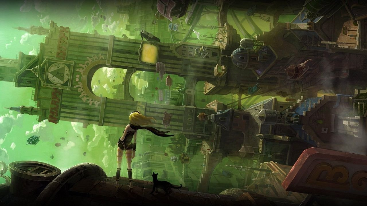 Gravity Rush was a gorgeous game, and it's coming to PS4.