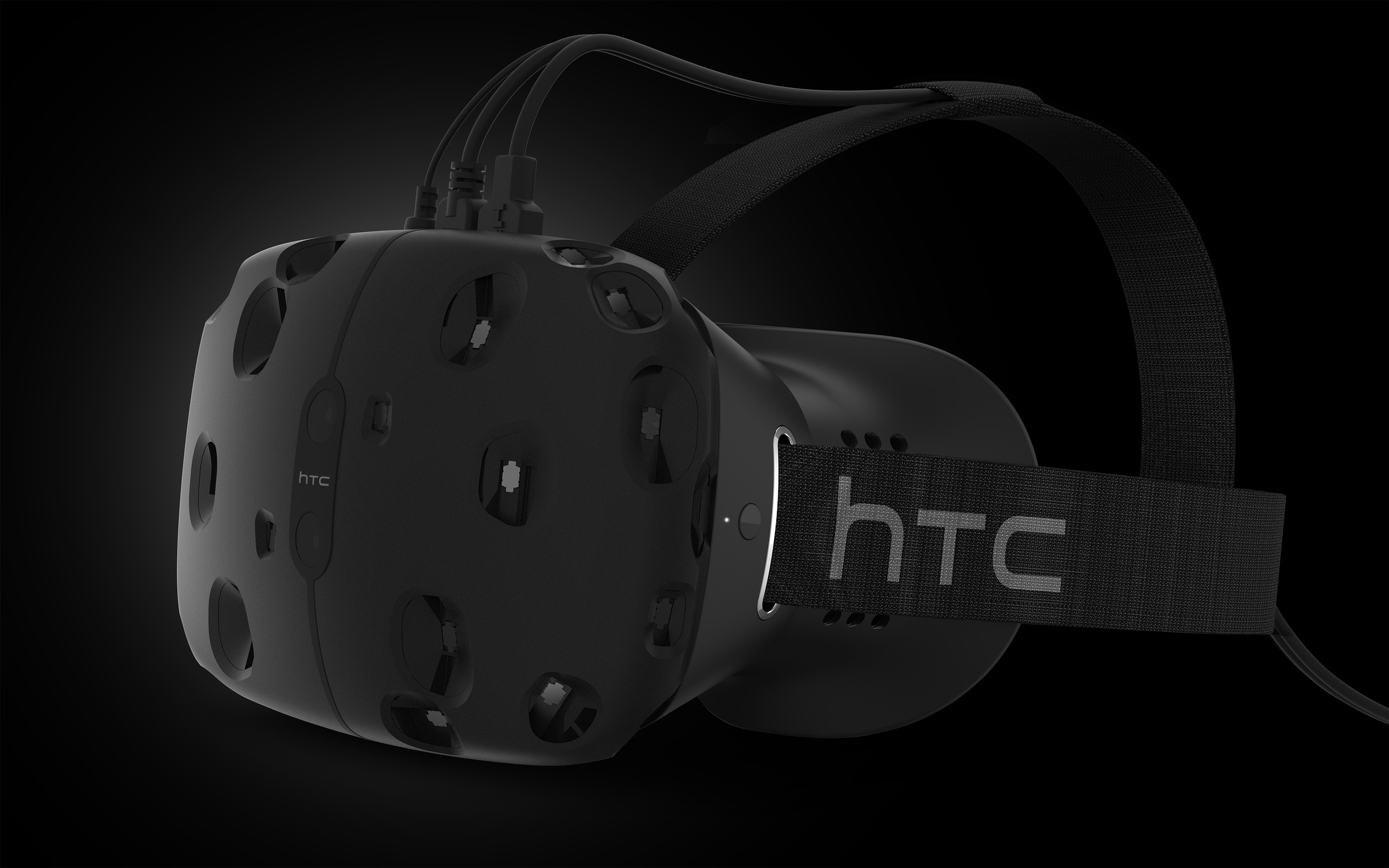 We're not talking about what VR is doing to our eyes … and