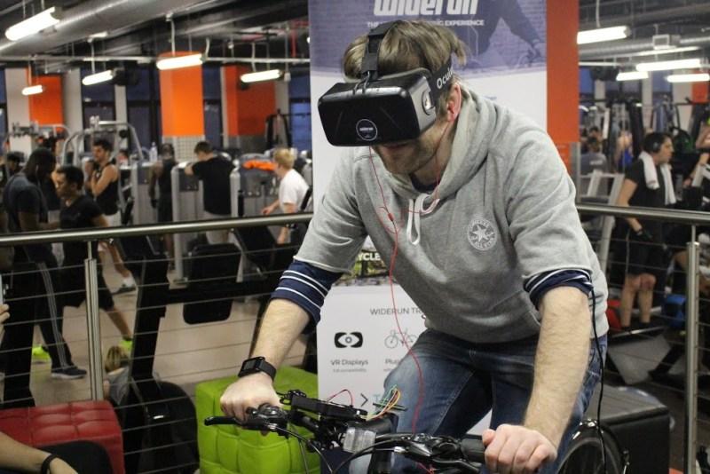 Widerun on Oculus Rift