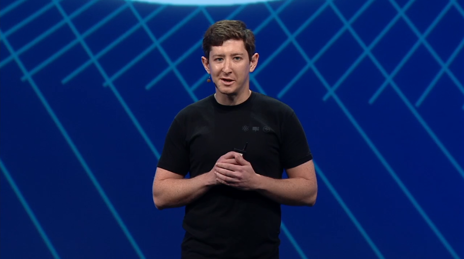 Facebook Parse cofounder and chief executive Ilya Sukhar speaks at Facebook's F8 conference in San Francisco on March 25.