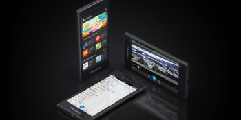 Hands-on: BlackBerry Leap is all business, with some cool productivity tricks