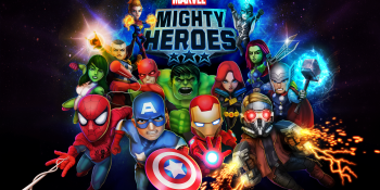 DeNA reinforces its brand success with Marvel Mighty Heroes for mobile