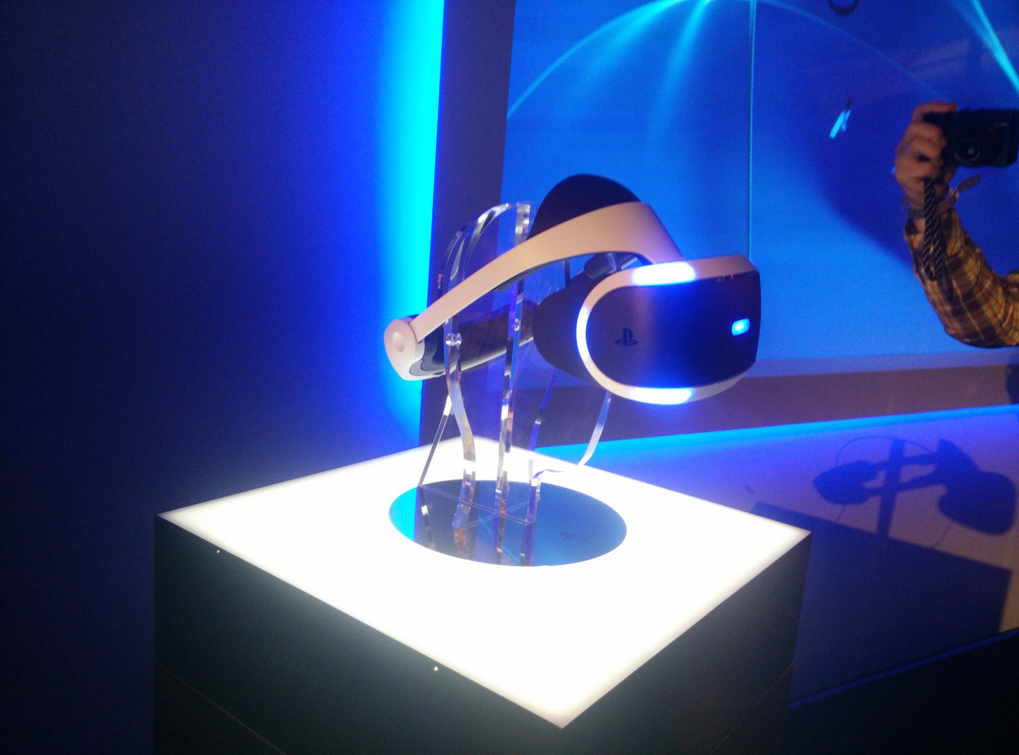 Sony's latest Project Morpheus prototype.