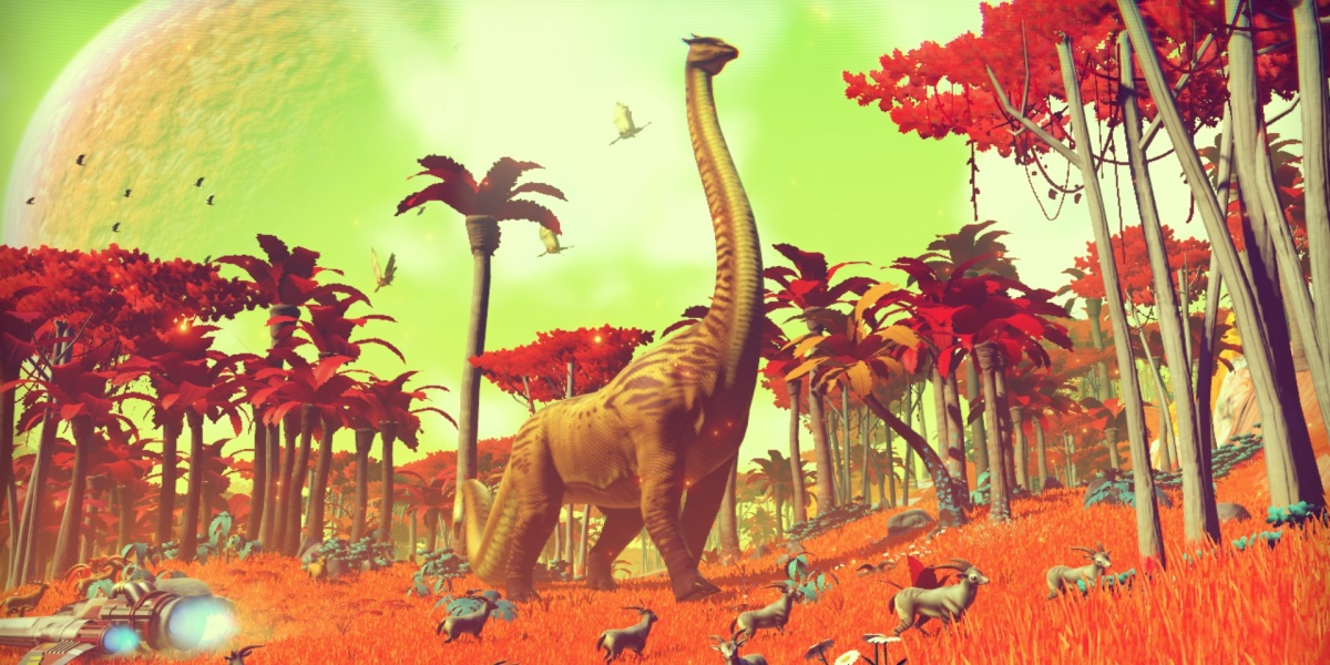 Wildlife in No Man's Sky