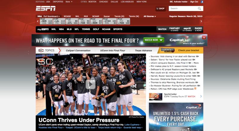 The former ESPN.com