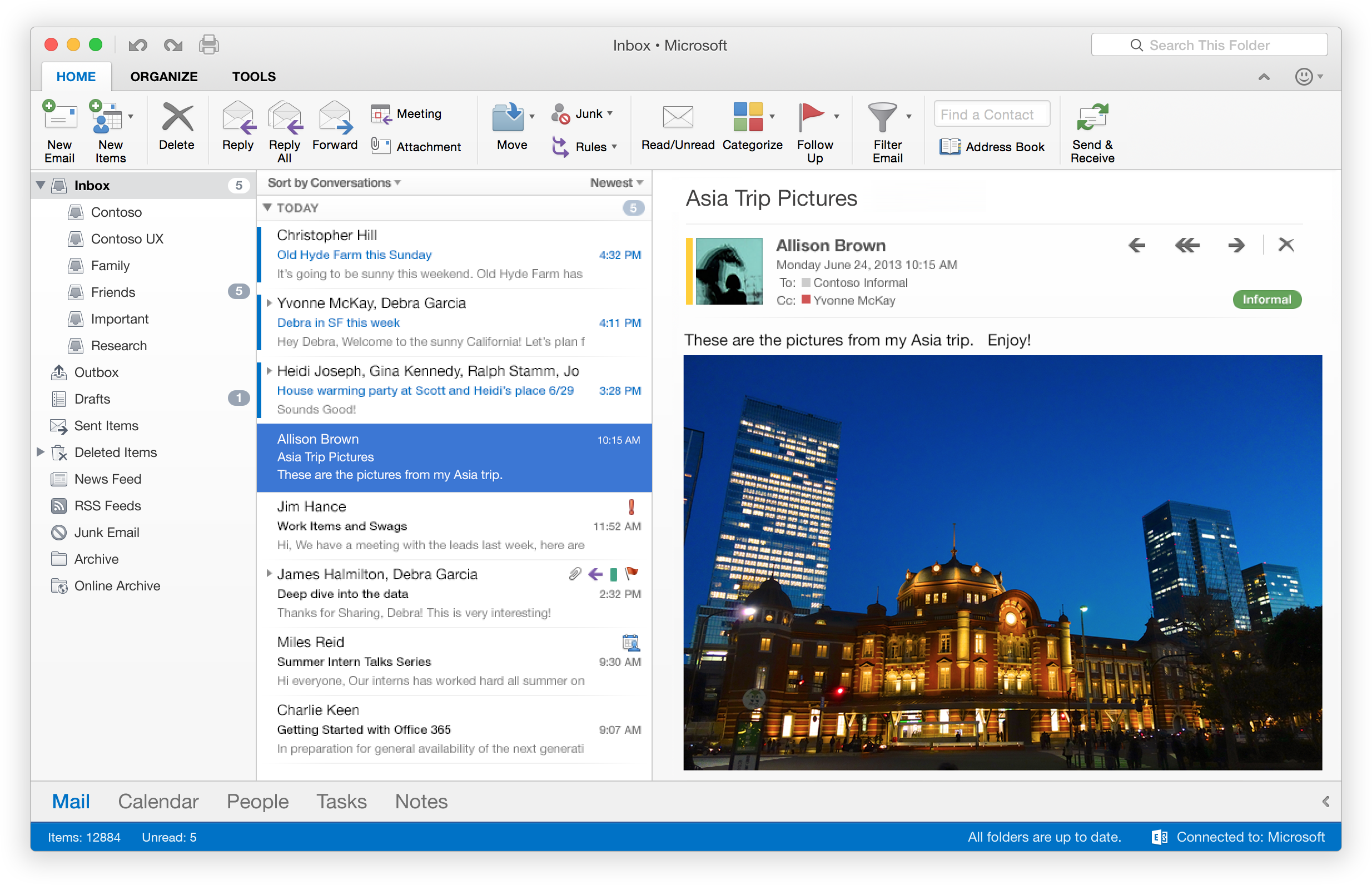 outlook 2016 how to make email wrap around