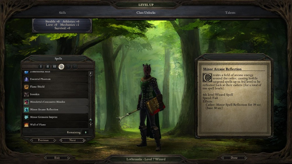 When you level up, you can choose more than just spells and stats -- you get abilities as well at different levels.
