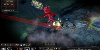 In Pillars of Eternity, you choose, and the world responds
