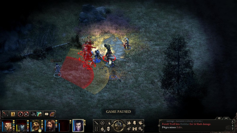 While you end up using violence to solve too many quests in Pillars of Eternity, I don't mind slaying trolls, though.