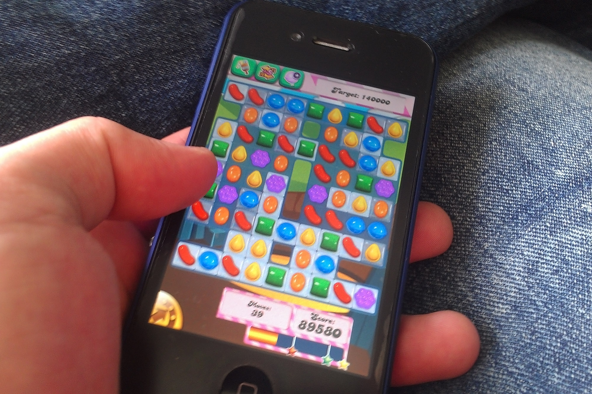Candy Crush Saga from U.K. company King.
