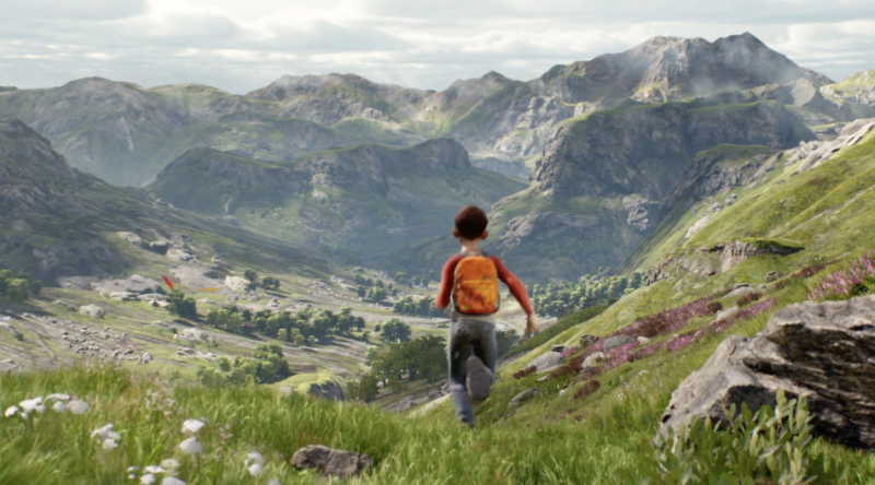 Epic Games' A Boy and His Kite, a new technical demo for its Unreal Engine 4.