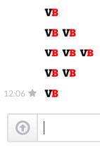 VentureBeat emoji in Slack, people.