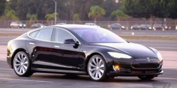 She cannae take no more, Captain! Tesla P85D has so much torque, it breaks a dynamometer