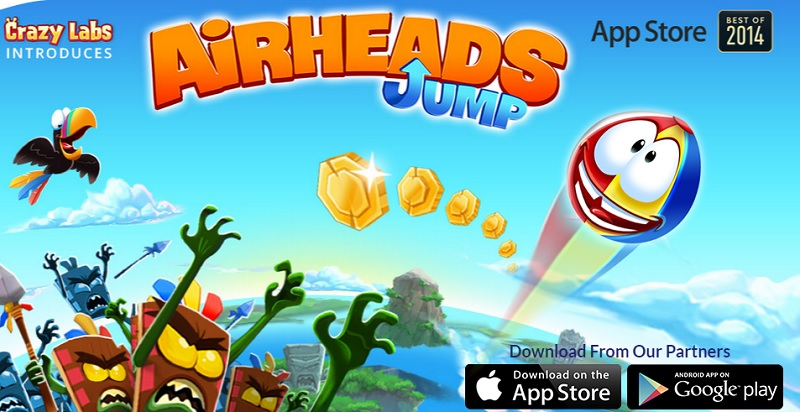 Airheads Jump from Crazy Labs is aimed at older mobile users.