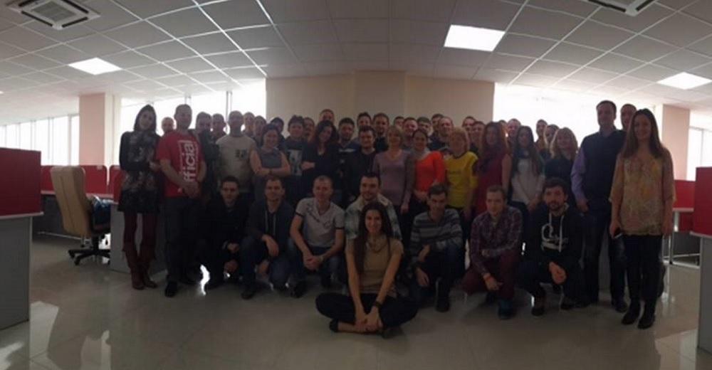 Arkadium team in Russia