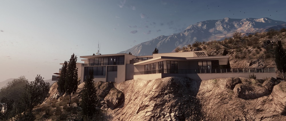 Hollywood Hills house from Battlefield 3