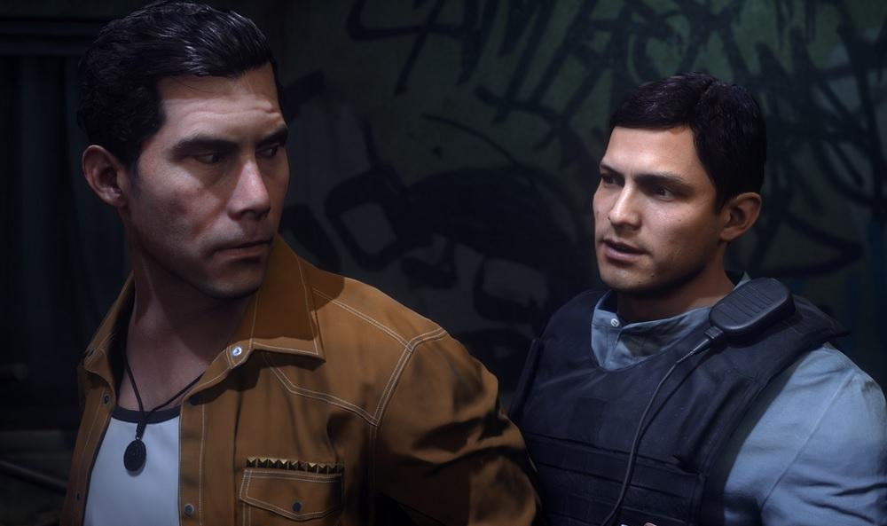 Battlefield Hardline's Tap and Mendoza characters.