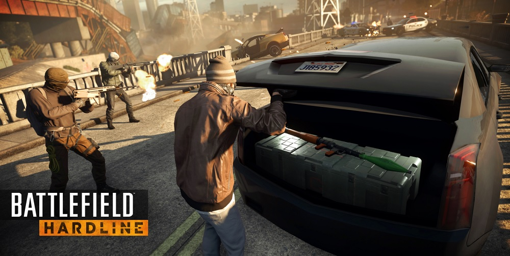 Not everybody gets to have a rocket launcher in Battlefield Hardline.