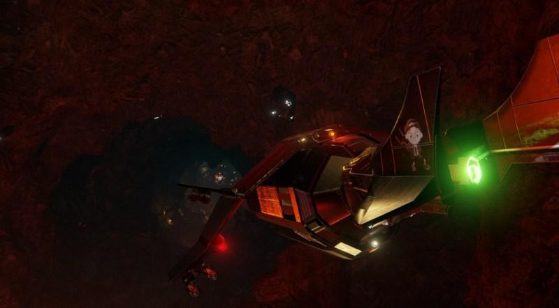 Descent: Underground ship