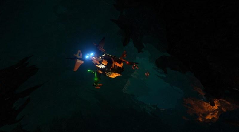 Mining in Descent: Underground