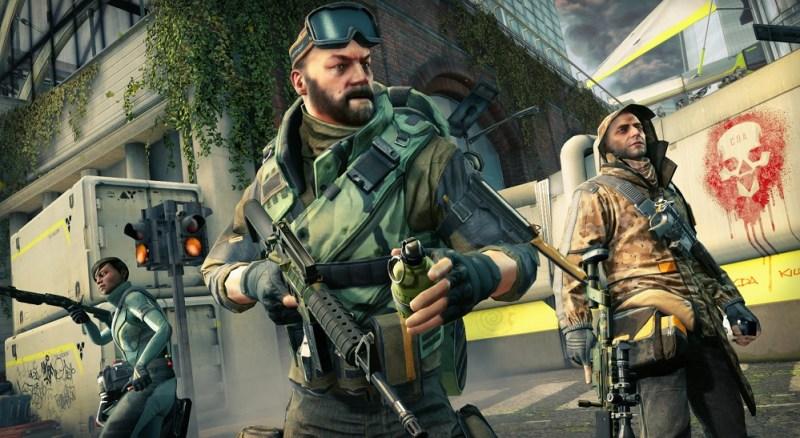 Dirty Bomb has a standard assault rifle gunner.